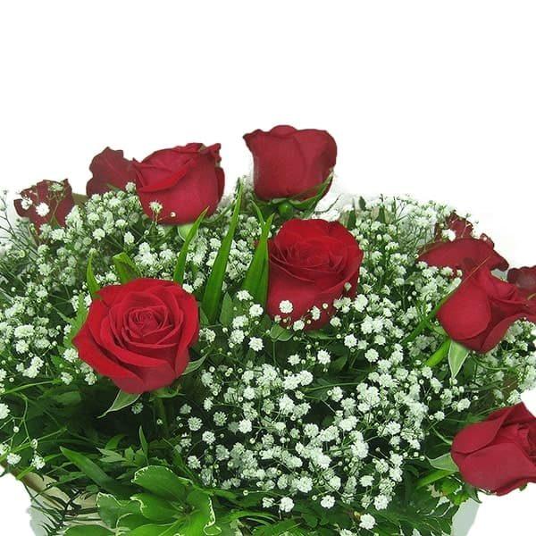 Buquê Amor com 12 rosas Perto