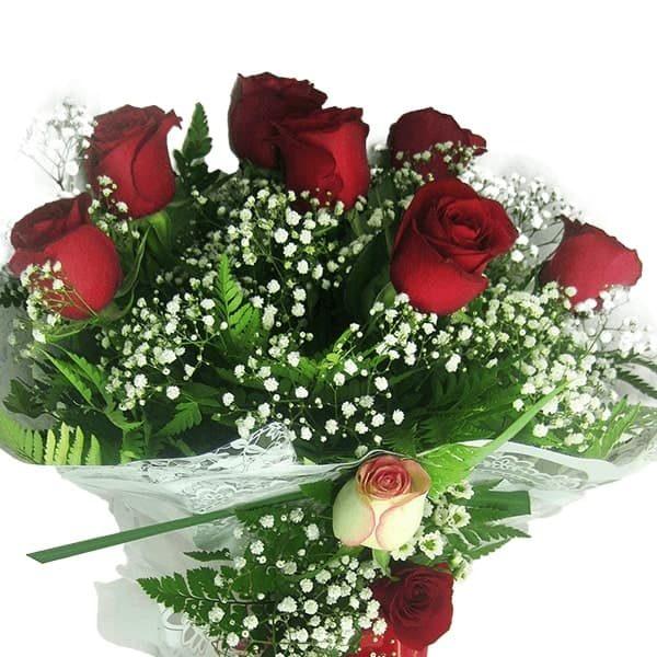 Buquê Amor com 7 Rosas Perto