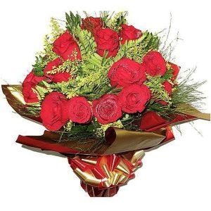Buquê Amor com 24 Rosas