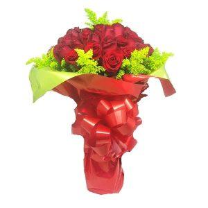 Buquê Amor com 48 Rosas Frente