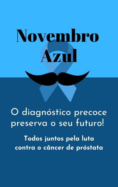 Banner Novembro Azul para Celular