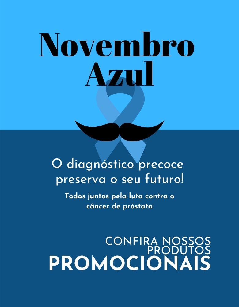 Banner Novembro Azul para Tablet