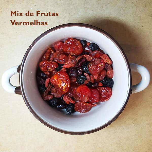Mix de Frutas Vermelhas Linha Mais Saúde