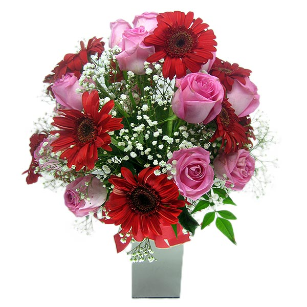 Arranjo Beleza Intensa Arranjo de Flores Frente