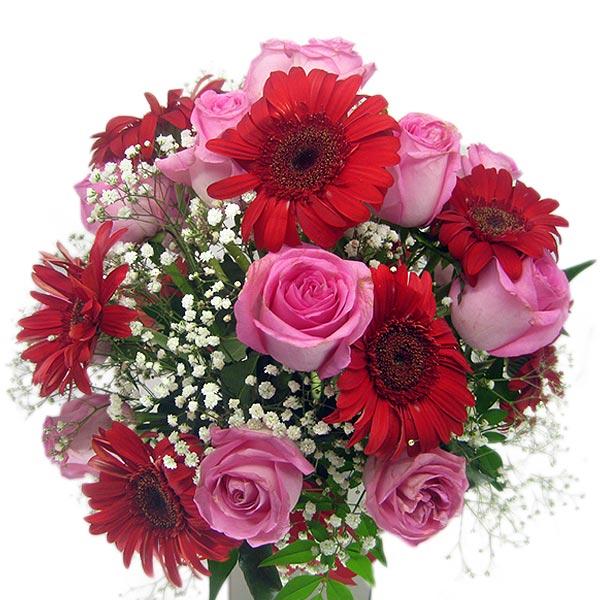 Arranjo Beleza Intensa Arranjo de Flores Perto