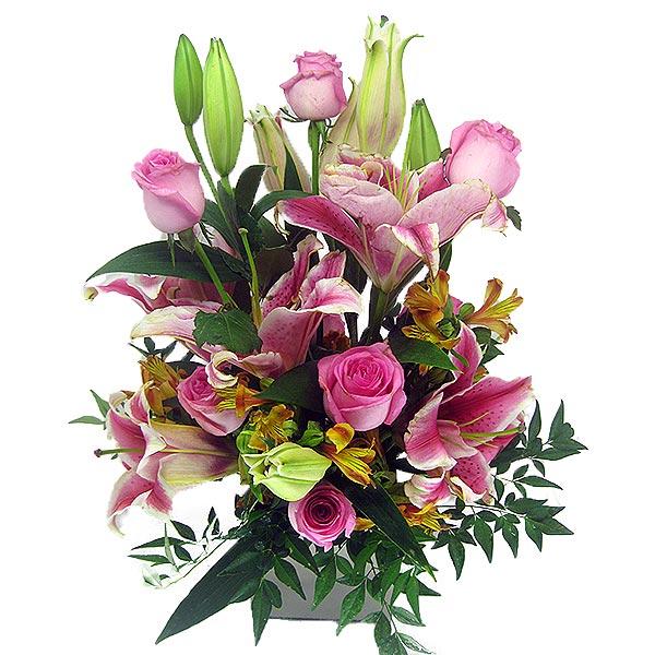 Arranjo Lindo Amor Arranjo de Flores Frente