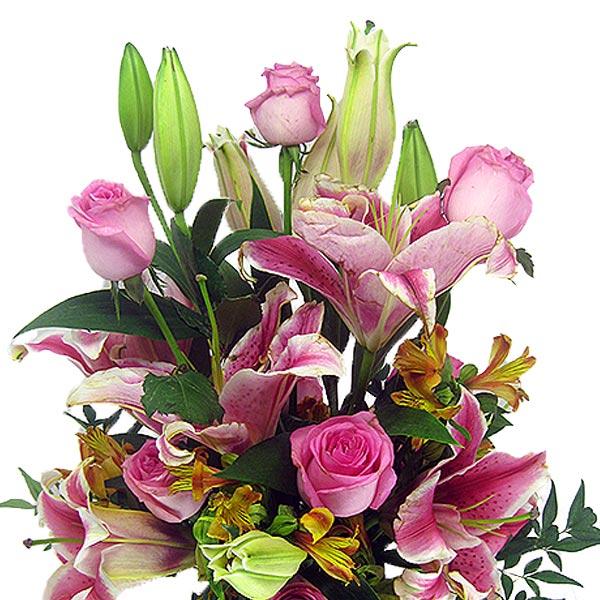 Arranjo Lindo Amor Arranjo de Flores Perto