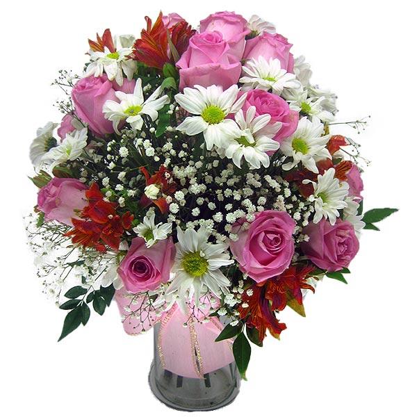 Arranjo Musa Arranjo de Flores Frente