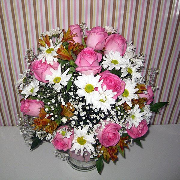 Arranjo Musa Arranjo de Flores Still Cima