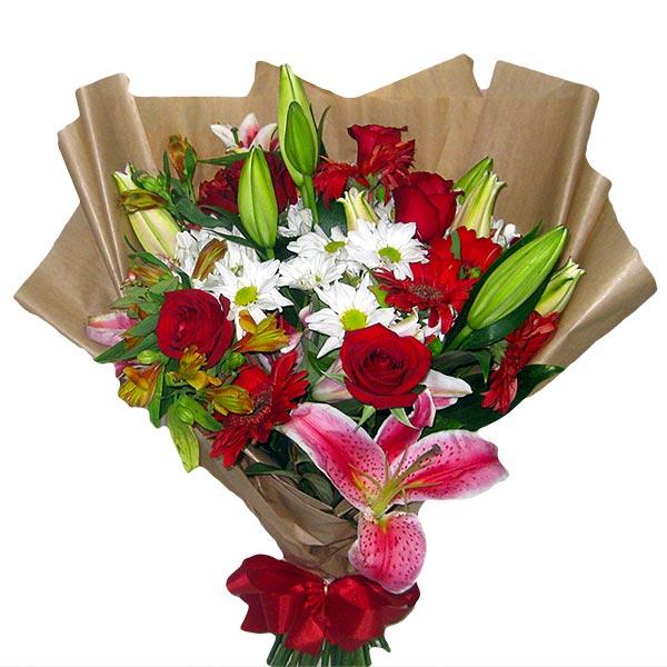 Buquê Beleza das Flores Buquê de Flores Frente