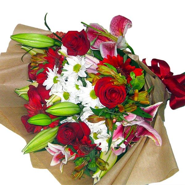 Buquê Beleza das Flores Buquê de Flores Deitado