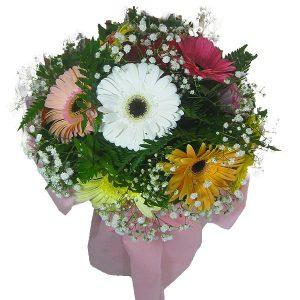 Buquê Gérberas e Cores Buquê de Flores Cima