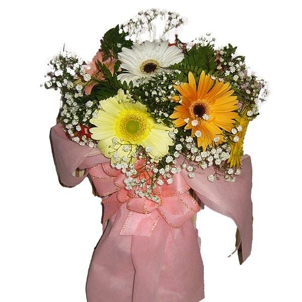Buquê Gérberas e Cores Buquê de Flores Frente