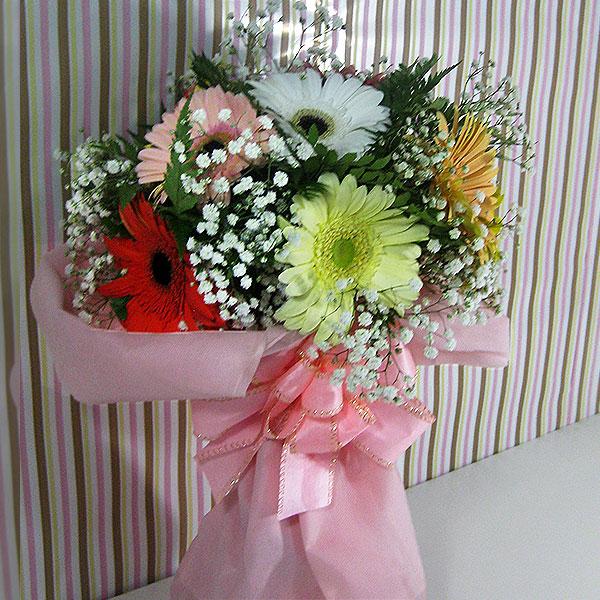 Buquê Gérberas e Cores Buquê de Flores Still Frente