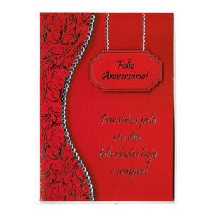 Cartão de Aniversário 2 Frente