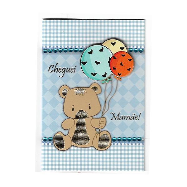 Cartão Nascimento 3 Frente