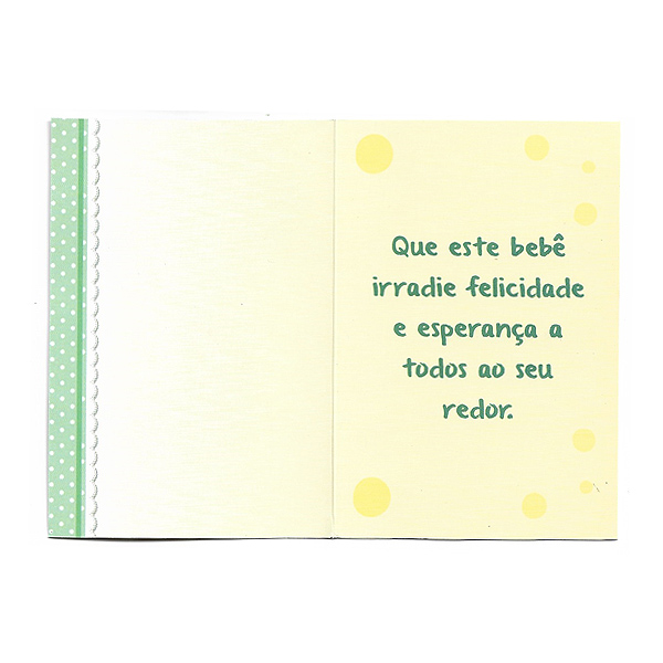 Cartão Nascimento 4 Dentro